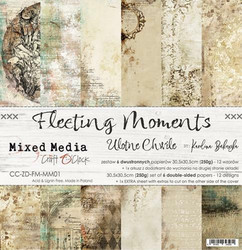 Craft O´Clock Fleeting Moments paperisetti 30,5x30,5cm 6kpl