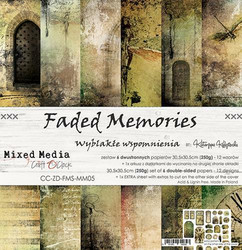 Craft O´Clock Faded Memories paperisetti 30,5x30,5cm 6kpl