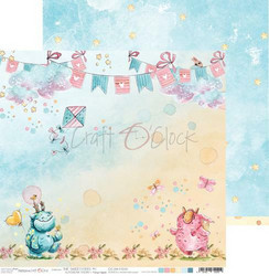 Craft O´Clock The Sweetsters paperisetti 30,5x30,5cm 6kpl