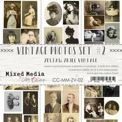 Craft o´Clock Vintagekuvat Mixed Media setti II 6kpl 15,5x30,5cm