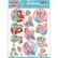 Stanssatut 3d-kuvat Bubbly Party Girls Yvonne Creations sb10345