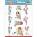 Stanssatut 3d-kuvat Bubbly Party Girls Yvonne Creations sb10438