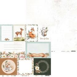P13 skräppäyspaperi Forest Tea Party 05 12x12