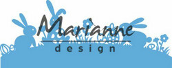 Marianne Design stanssi Bunny border LR0588