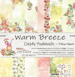 Craft O´Clock Warm Breze paperisetti 30,5x30,5cm 6kpl