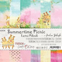 Craft O´Clock Summerime Picnic paperisetti 30,5x30,5cm 6kpl