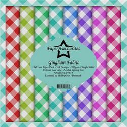 HG paperikko Gingham Fabric 6x6