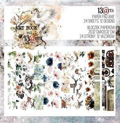 13Arts paperikko Art Book Vol. 1 8x8
