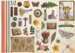 My Favourite Crafting Book korttikirja - Botanical Garden Studiolight