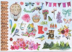 My Favourite Crafting Book korttikirja - Watercolor Stories Studiolight