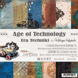 Craft O´Clock Age of Technology paperisetti 8x8