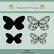 Dixi Craft stanssit ja leimasimet perhoset MD0091