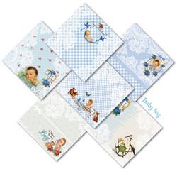Decorer paperikko Baby Boy 8x8