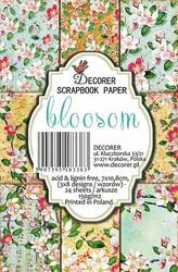Decorer taustapaperi/korttikuvat Bloosom 24kpl