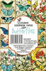 Decorer korttikuvat Butterflies 24kpl