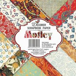 Decorer paperikko Motley 8x8
