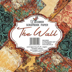 Decorer paperikko The Wall 8x8