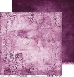 Craft o´clock paperi Purple-Fuchsia Mood #1 30,5x30,5cm