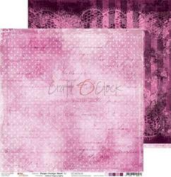 Craft o´clock paperi Purple-Fuchsia Mood #2 30,5x30,5cm