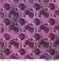 Craft o´clock paperi Purple-Fuchsia Mood #5 30,5x30,5cm