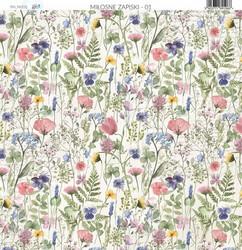 Paper Heaven paperi Love Notes #1 30,5x30,5cm