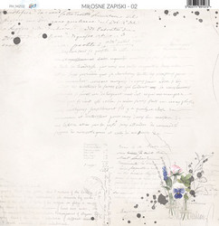 Paper Heaven paperi Love Notes #2 30,5x30,5cm