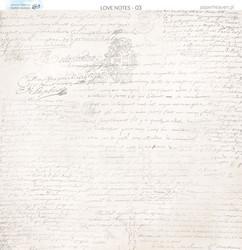 Paper Heaven paperi Love Notes #3 30,5x30,5cm