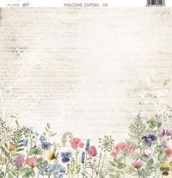 Paper Heaven paperi Love Notes #4 30,5x30,5cm