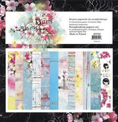13arts paperikko Pastel Spring 6x6