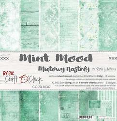 Craft O´Clock Mint Mood basic paperisetti 30,5x30,5cm 6kpl