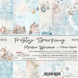 Craft O´Clock paperikko Frosty Sparkling 15,25x15,25cm