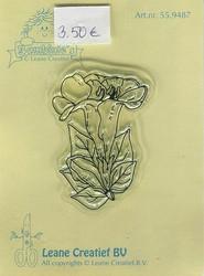 Leane Creatief kirkas leimasin Flower
