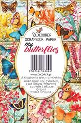 Decorer korttikuvat My Butterflies 24kpl