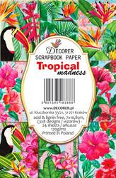 Decorer korttikuvat Tropical 24kpl