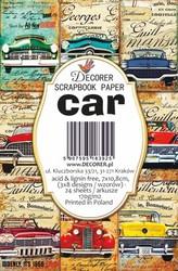 Decorer korttikuvat Car 24kpl