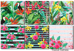 Decorer paperikko Tropical 8x8
