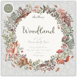 Craft Consortium paperilehtiö Woodland 6x6