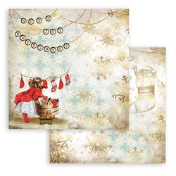 Stamperia paperikko  Romantic Christmas 12x12