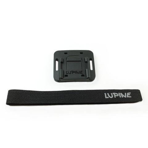 Lupine FrontClick Helmet Mount Velcro