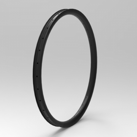 Fat MTB 26+ 40mm carbon rim tubeless