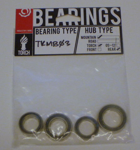 Torch MTB rear bearing set