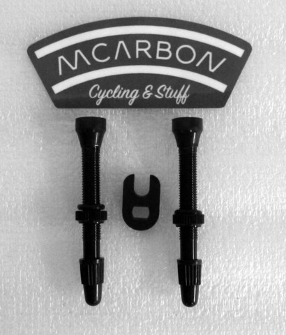 Aluminium Tubeless Valve 44mm Pair