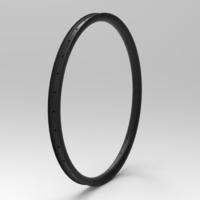 NXT27AM40 27,5 40mm Tubeless hiilikuitukehä Hookless AM