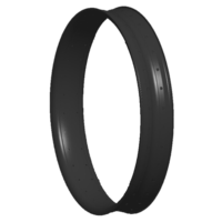 Snow Dragon 80mm 26 carbon rim, tubeless