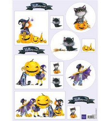 Marianne Design Halloween -korttikuvat