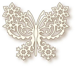 Wild Rose Studion Frosted Butterfly -stanssi 2