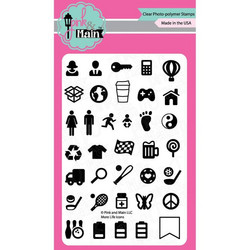 Pink & Main leimasinsetti More Life Icons