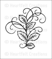 Heartfelt Creationsin Bella Rose Leaves -leimasin