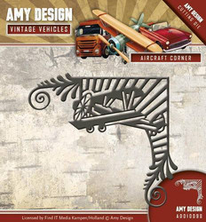 Amy Design Vintage Vehicles stanssi Aircraft Corner