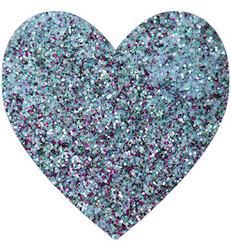 Wow! Sparkles Glitter - jauhe sävy Peppermint Stick